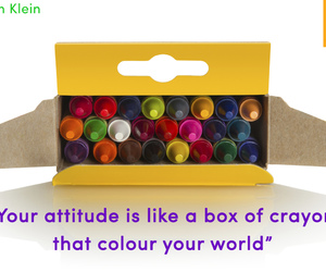 color, crayons, and positive image