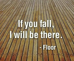 floor, funny, and fall image
