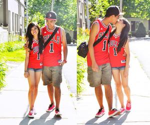 couple, kiss, and swag image