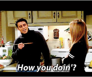 joey tribbiani, friends tv show, and friends the tv show image