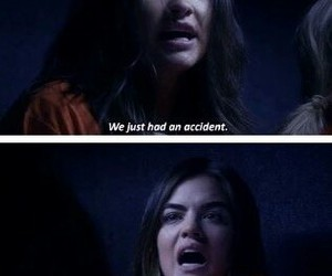 pretty little liars, emily, and aria image