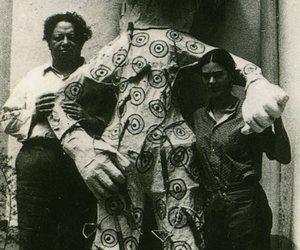 art, frida kahlo, and couple image