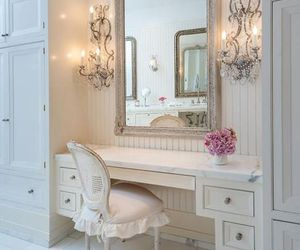 bedroom, vintage, and dressing table image