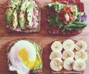 breakfast, fitness, and good morning image