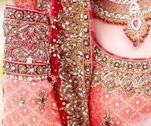 bridal, wedding, and lehenga image
