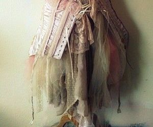 ballerina, corset, and dress image