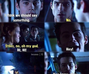 teen wolf, stiles, and dylan o'brien image