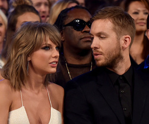 Taylor Swift and calvin harris image