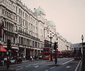 london, street, and city image