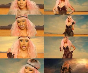 pink, videoclip, and david guetta image