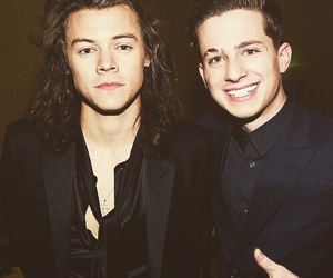 Harry Styles, charlie puth, and one direction image