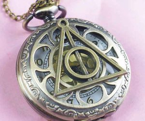 deathly hallows, hp, and harry potter image