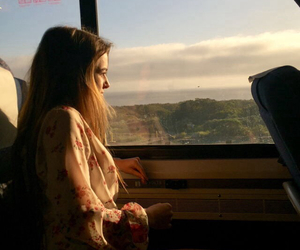 girl, indie, and travel image