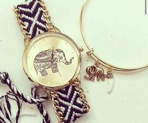 watch and elephant image