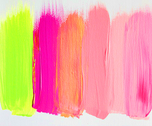 pink, colors, and paint image