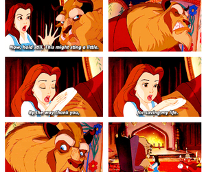 beast, beauty, and disney image