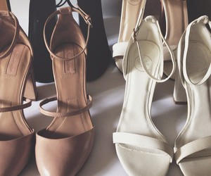 heels, sandals, and stradivarius image