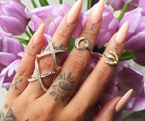 tattoo and rings image