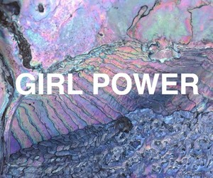 girl power, tumblr, and grunge image