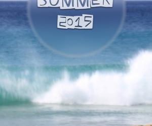beach, summer, and summer 2015 image