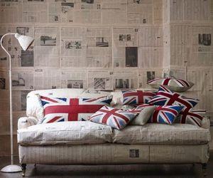 london, uk, and sofa image