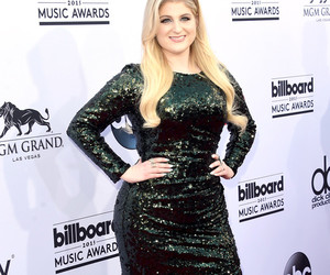 red carpet and meghan trainor image