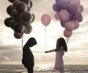 balloons, colored, and sharing is caring image