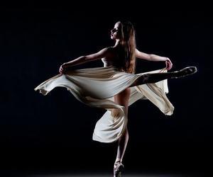 ballerina, ballet, and grace image