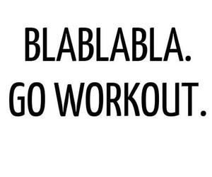 blablabla, fitness, and motivation image
