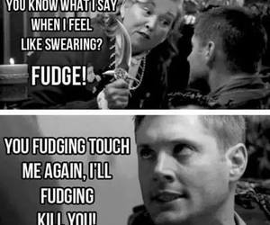 supernatural, dean winchester, and fudge image