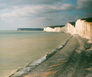 cliffs, england, and coast image
