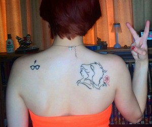 girl, girls with tats, and ink image