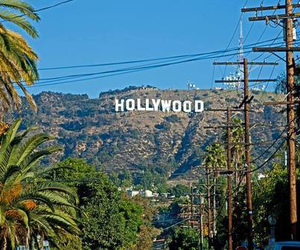 hollywood, los angeles, and Dream image