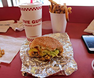 delicious, fast food, and restaurant image