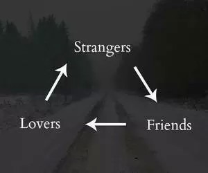 friends, strangers, and lovers image