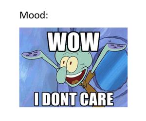 funny, mood, and spongebob image