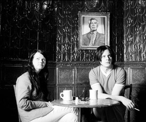 the white stripes, cigarettes, and coffee image