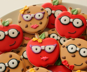 apple, Cookies, and cookie image