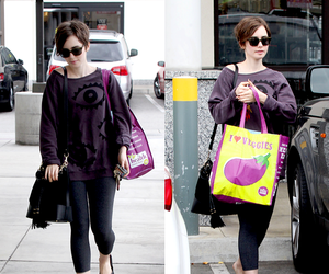 la and lily collins image