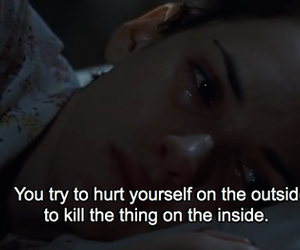 sad, quotes, and depressed image