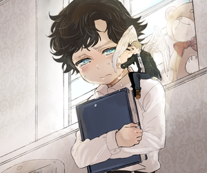 sherlock and cute image