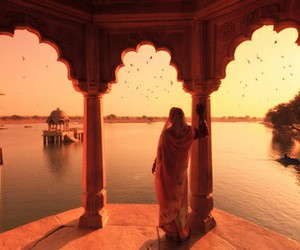 beautiful, india, and woman image