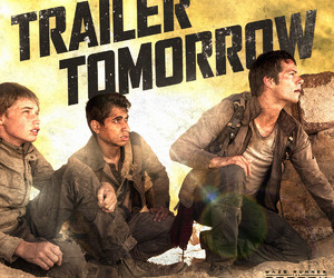thomas, the scorch trials, and trailer image