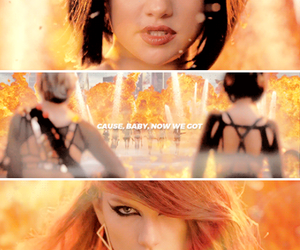 selena gomez, Taylor Swift, and bad blood image