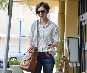 lily collins, fashion, and style image