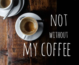 coffee, tumblr, and funny image