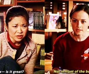 adore, funny, and gilmore girls image