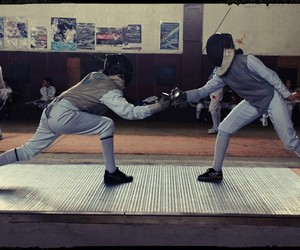 fencing and foil image