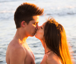 beach, boy, and boyfriend image