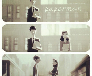 disney, paperman, and love image